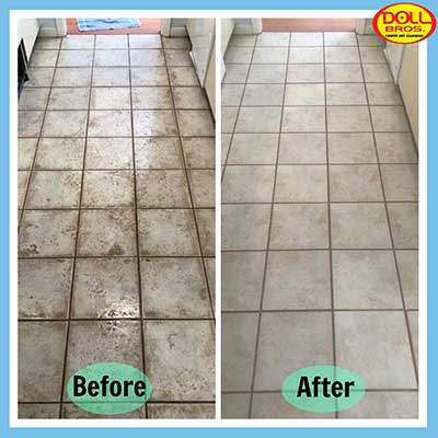Tile and Grout Cleaning by Doll Bros